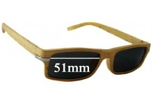 On The Nose N4532 New Sunglass Lenses - 51mm wide