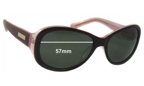 Oroton Saba Replacement Sunglass Lenses - 57mm Wide