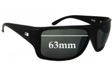 Otis Blunt Replacement Sunglass Lenses - 63mm Wide