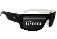 Otis Indie Replacement Sunglass Lenses - 63mm wide