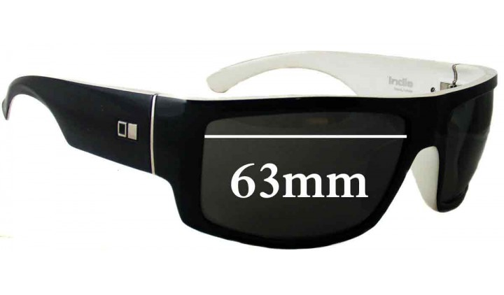 SFX Replacement Sunglass Lenses fits Otis Big Deal 63mm Wide