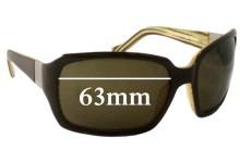 Otis Lola Bridges Replacement Sunglass Lenses - 63mm wide