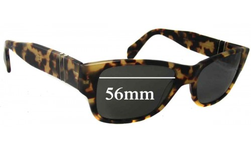 Persol 142 New Sunglass Lenses - 56mm Wide