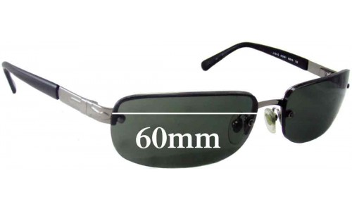 Persol 2131-S Replacement Sunglass Lenses - 60mm wide
