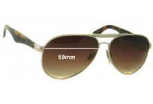 Persol 2365 S Replacement Sunglass Lenses - 59mm Wide