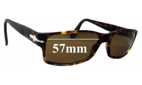Persol 2747-S Replacement Sunglass Lenses - 57mm Wide