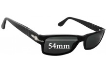 Persol 2747-S Replacement Sunglass Lenses - 54mm Wide