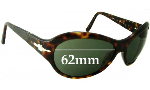 Persol 2787-S Replacement Sunglass Lenses - 62mm wide