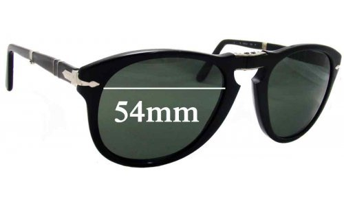 Persol 714 Replacement Sunglass Lenses - 54mm Wide
