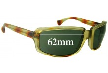 Polaroid 8002 Replacement Sunglass Lenses 62mm Wide
