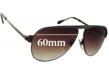 Porsche 908GB Replacement Sunglass Lenses - 60mm Wide