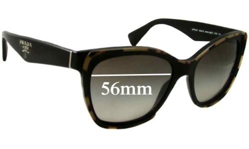 Prada SPR20P New Sunglass Lenses - 56mm wide