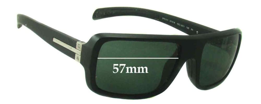Prada SPS01I Replacement Sunglass Lenses - 57mm Wide