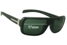 Prada SPS01I Replacement Sunglass Lenses - 57mm Wide
