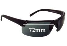 Prada SPS02F Replacement Sunglass Lenses - 72mm wide