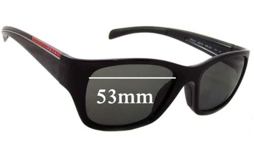 Prada SPS07I Replacement Sunglass Lenses - 53mm Wide