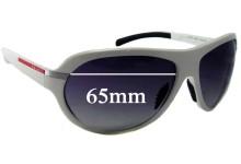 Prada SPS08I Replacement Sunglass Lenses - 65mm wide