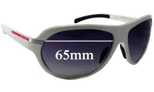 Sunglass Fix Replacement Lenses for Prada SPS08I - 65mm wide