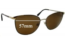 Ralph Lauren RL7039 Replacement Sunglass Lenses - 57mm wide