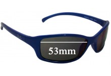 92deeba247 Sunglass Fix Sunglass Replacement Lenses for Ray Ban Jr RJ9019-S - 53mm wide