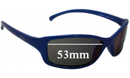 Ray Ban Jr RJ9019-S Replacement Sunglass Lenses - 53mm wide