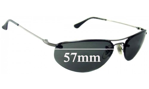 Ray Ban RB3155 New Sunglass Lenses - 57mm Wide