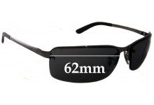 Ray Ban RB3217 Replacement Sunglass Lenses - 62mm Wide