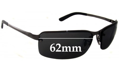 Sunglass Fix Replacement Lenses for Ray Ban RB3217 - 62mm Wide