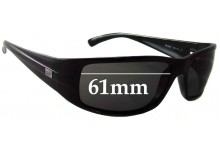 Ray Ban RB4057 Replacement Sunglass Lenses - 61mm across