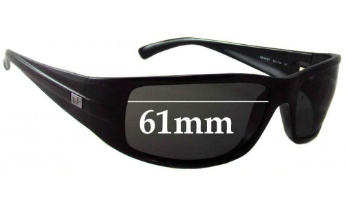 Sunglass Fix Replacement Lenses for Ray Ban RB4057 - 61mm wide