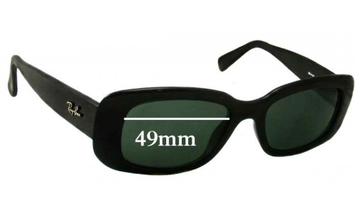 Ray Ban RB4122 Replacement Sunglass Lenses - 49mm Wide