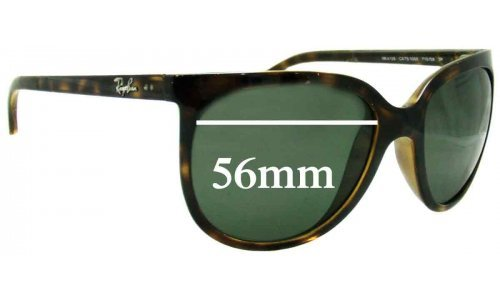 Ray Ban RB4126 Replacement Sunglass Lenses - 56mm Wide