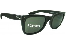Ray Ban RB4148 Caribbean Replacement Sunglass Lenses - 52mm Wide