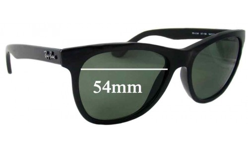 Ray Ban RB4184 Replacement Sunglass Lenses - 54mm wide lenses