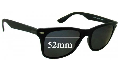 Ray Ban RB4195 Liteforce Replacement Sunglass Lenses - 52mm Wide