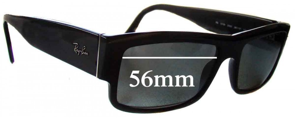 Ray Ban RB5119 Replacement Sunglass Lenses - 56mm wide