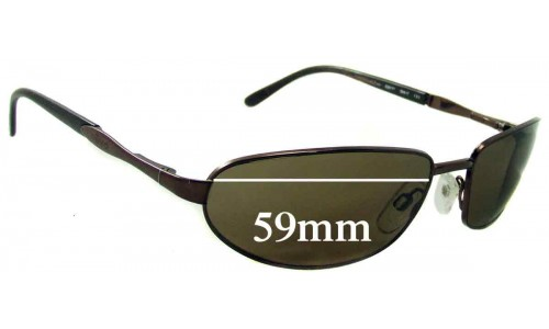 Revo 3030 Replacement Sunglass Lenses - 59mm Wide