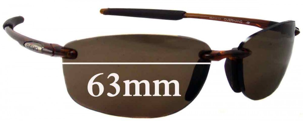 cb853094db Revo Overhang RE4044 Replacement Lenses - 63mm wide