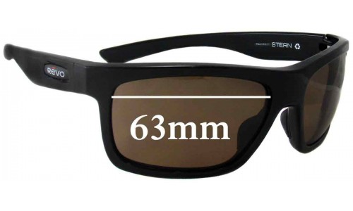 Revo RE4056 Stern Replacement Sunglass Lenses - 63mm Wide Lenses