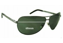 R.M. Williams Flinders PA737 Replacement Sunglass Lenses - 68mm wide