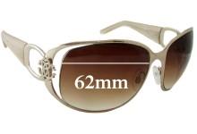 Roberto Cavalli Azzurrite 456/S Replacement Sunglass Lenses - 62mm wide