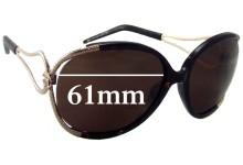 Roberto Cavalli Narciso 524S New Sunglass Lenses - 61mm wide