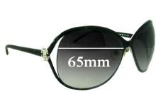 Sunglass Fix New Replacement Lenses for Roberto Cavalli Variscite 500S - 65mm Wide