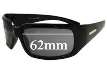 Roc Greta Replacement Sunglass Lenses - 62mm wide