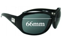 Roxy The Minx Replacement Sunglass Lenses - 66mm wide