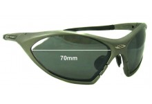 Rudy Project T-Lock Replacement Sunglass Lenses - 70mm wide