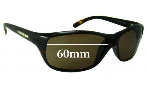 Serengeti Arezzo New Sunglass Lenses - 60mm wide