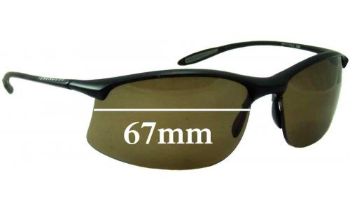Serengeti Maestrale 7356 Replacement Sunglass Lenses - 67mm Wide