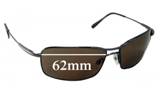 Serengeti Dante Replacement Sunglass Lenses - 62mm Wide