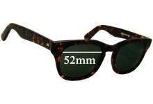 Shuron Sidewinder 5 1/2 New Sunglass Lenses - 52mm Wide